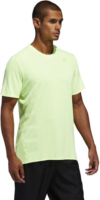 adidas Supernova T shirt Herrer, hi res yellow